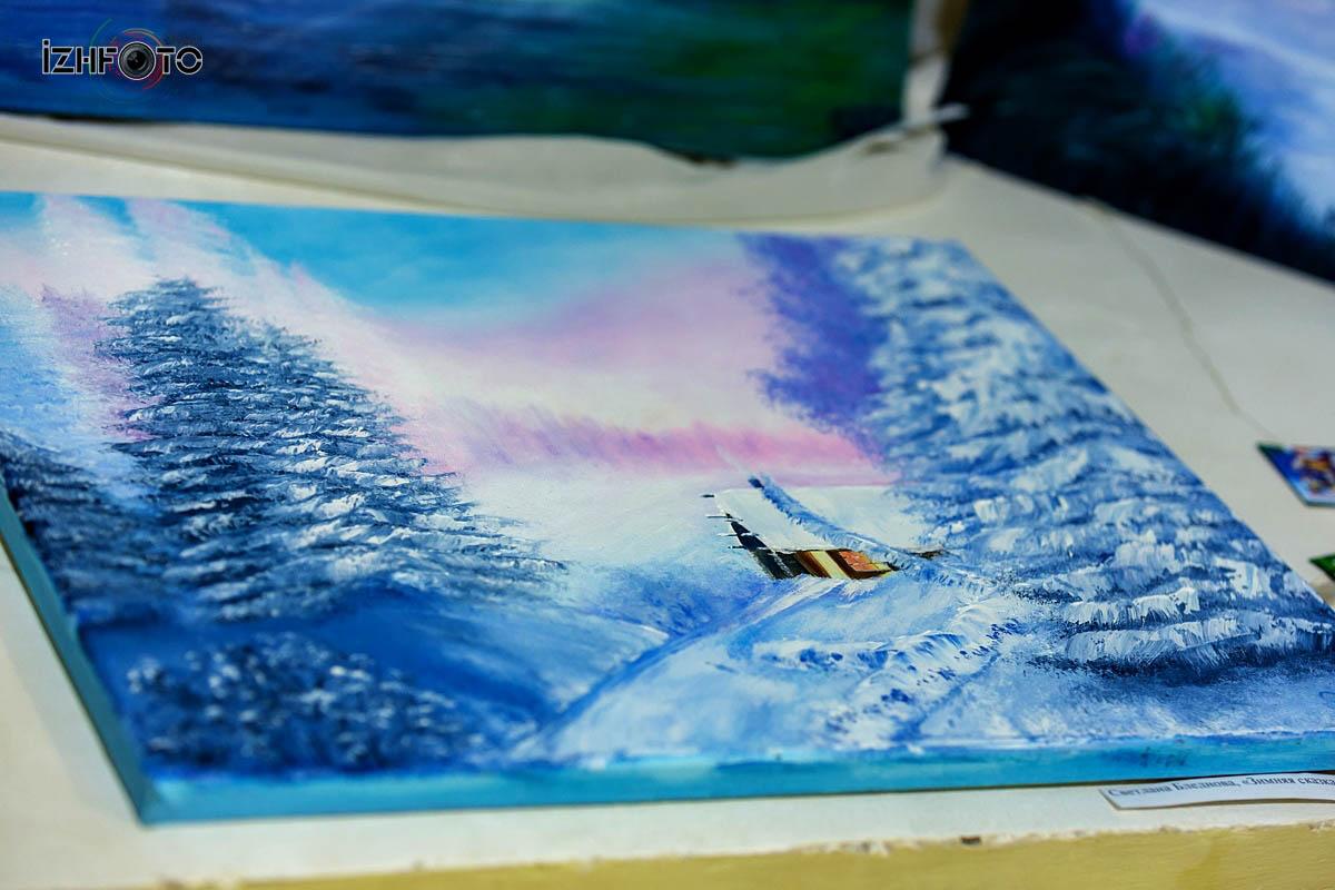Выставка работ учеников Школы Креатива Ижевск