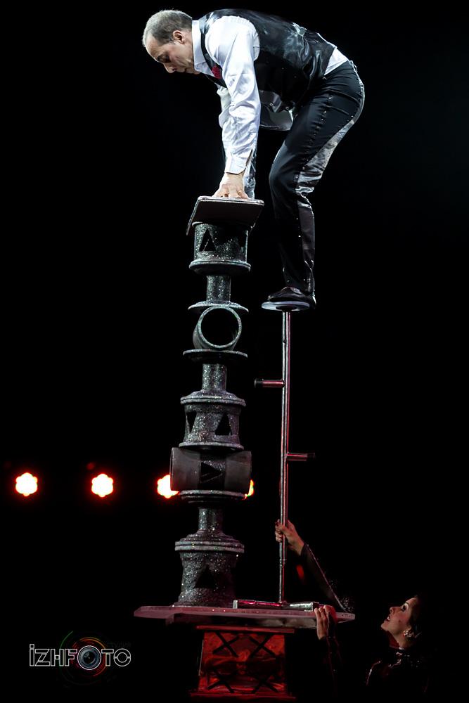 Цирковое представление Фото