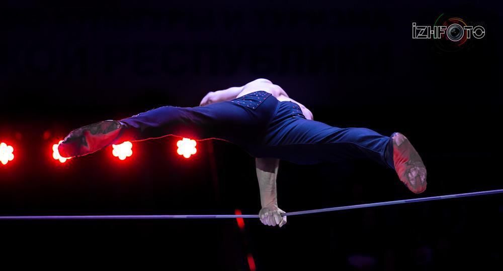 Geoffrey Berhault, double tight wire, France