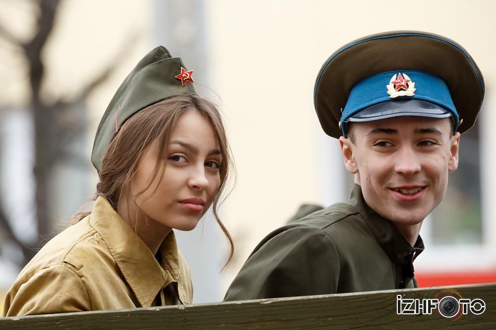 Парад 9 Мая 2015 Ижевск Фото