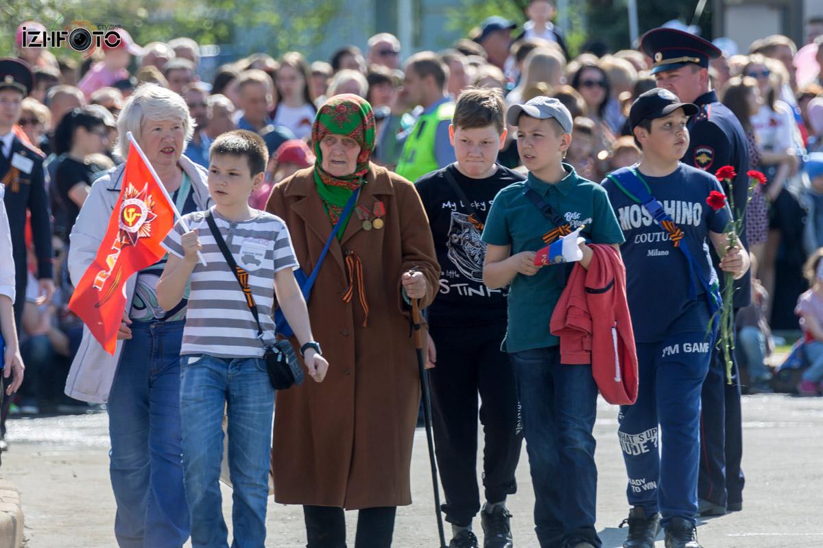 Дети на праздновании Дня Победы Фото