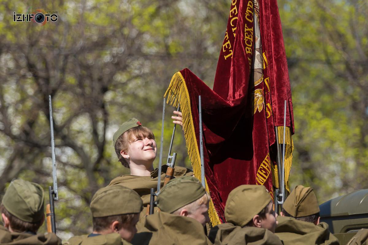 Подготовка к параду Победы в Ижевске Фото