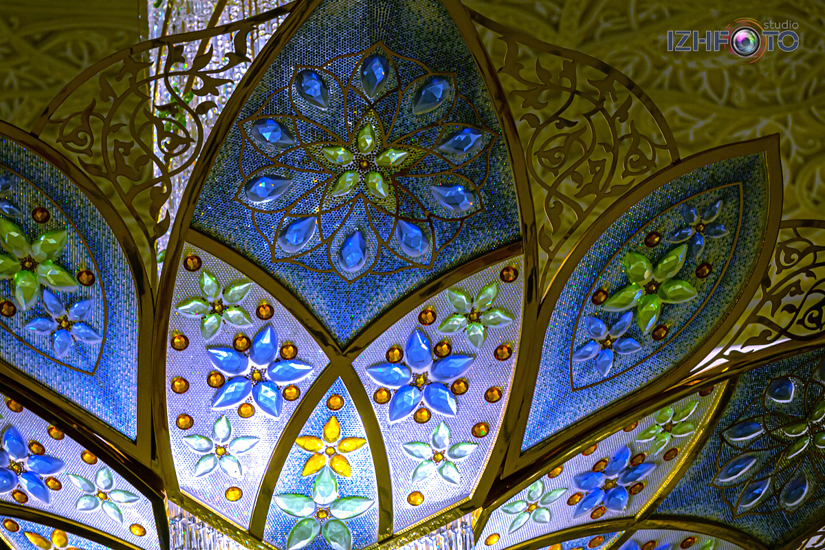 Красота и роскошь Мечети Шейха Зайда