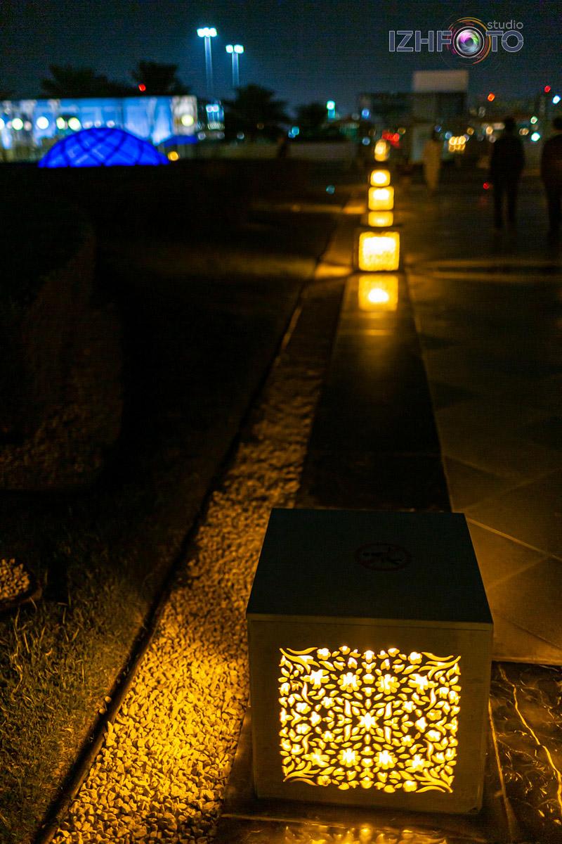 Фото Мечети Sheikh Zayed ночью