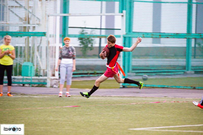 Турнир по флаг-футболу в Ижевске