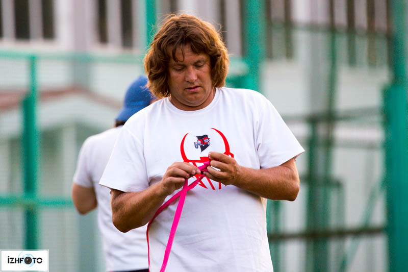 Женская команда по флаг-футболу в Ижевске