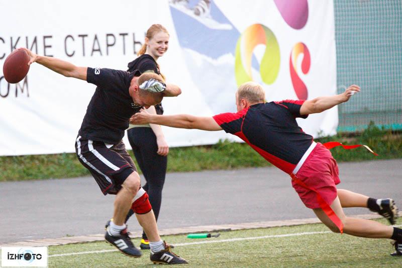 Любительский турнир по флаг-футболу в Ижевске