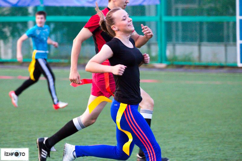 "Турнир по флаг-футболу ""Мир, дружба, жвачка"""