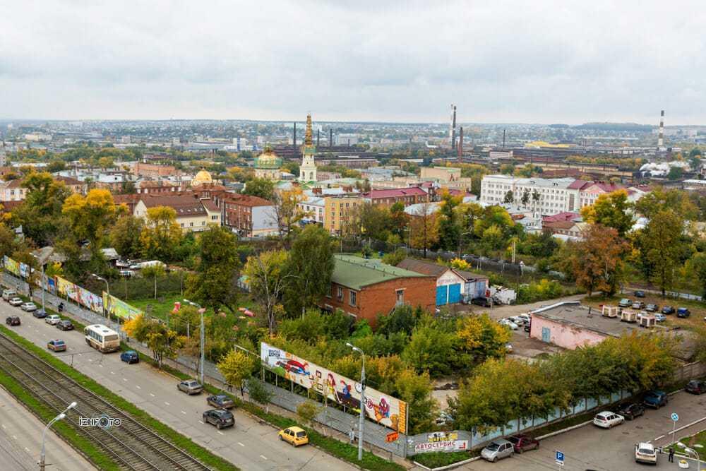 Офисы в аренду в центре города, Ижевск