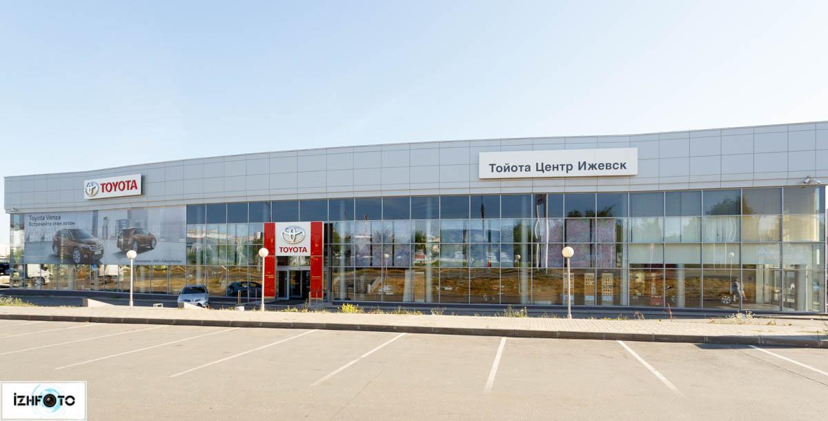 Автодеревня Аспек в Ижевске