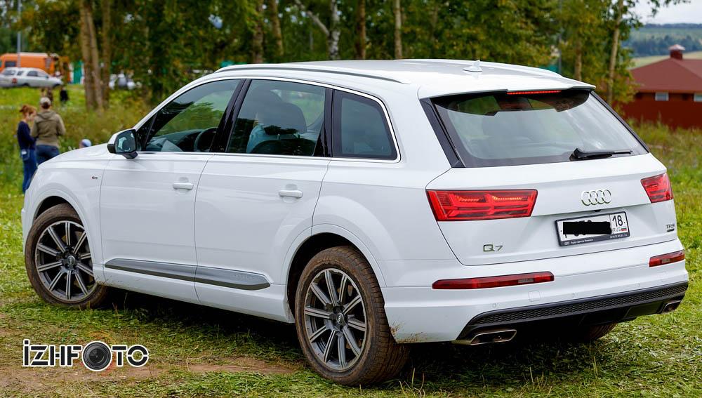 Тест драйв Audi