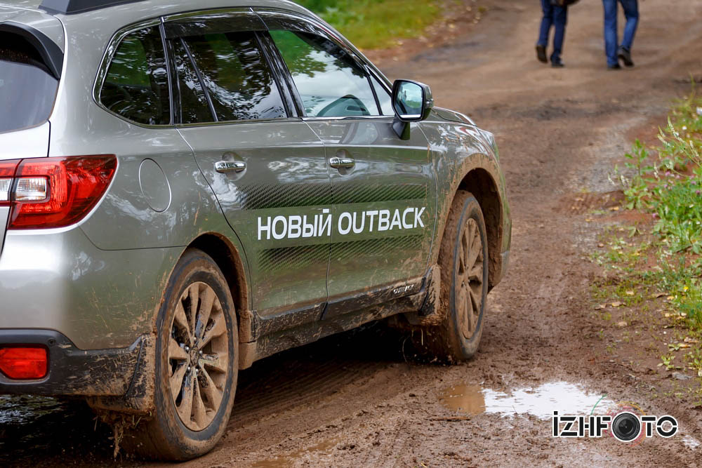 Тест драйв Subaru Outback