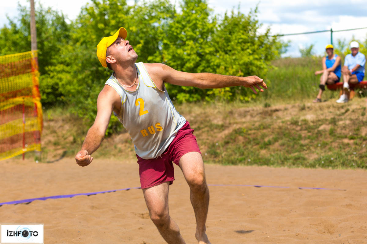 Пляжный волейбол Ижевск Фото