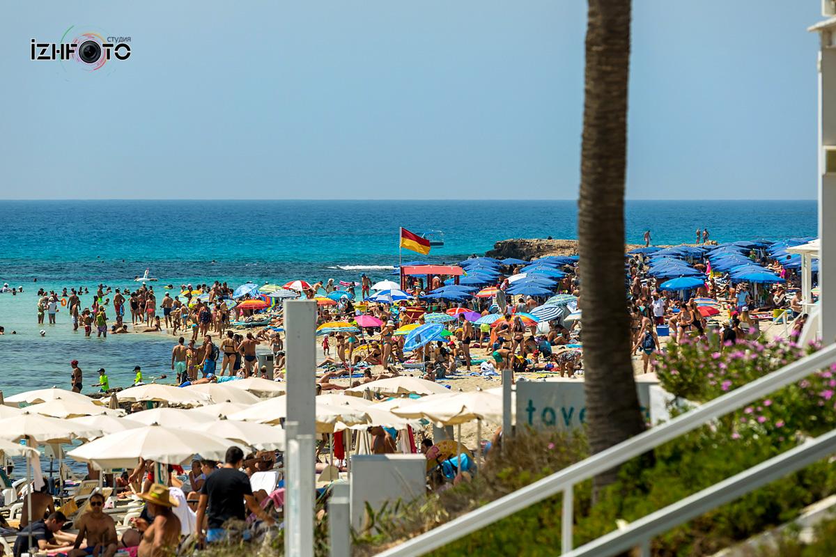 Отдых на пляжах Кипра