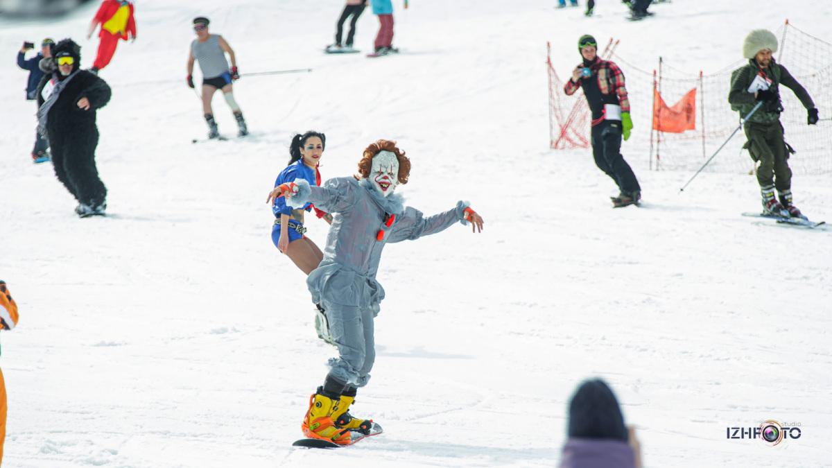 Последний день горнолыжного сезона Ижевск