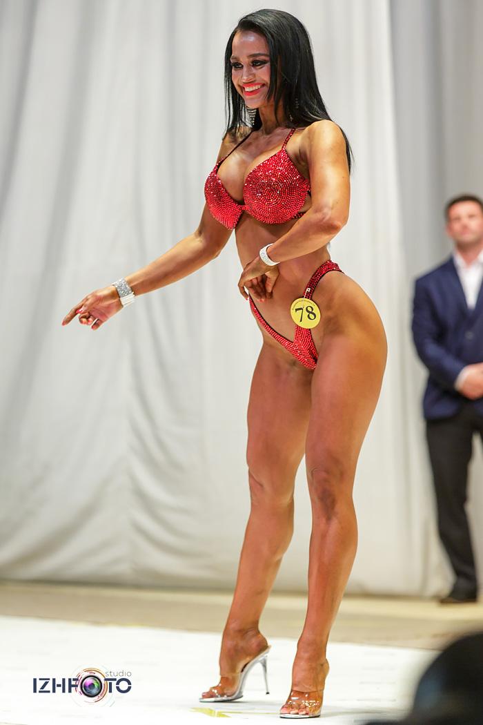 Фитнес бикини свыше 166 см