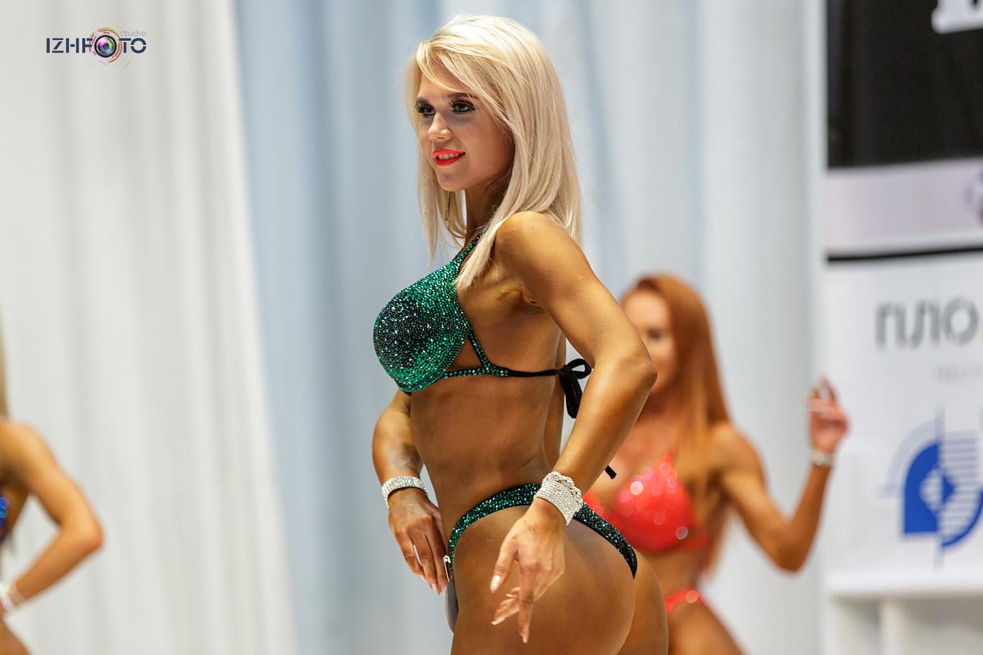 Категория свыше 166 см Fitness Bikini