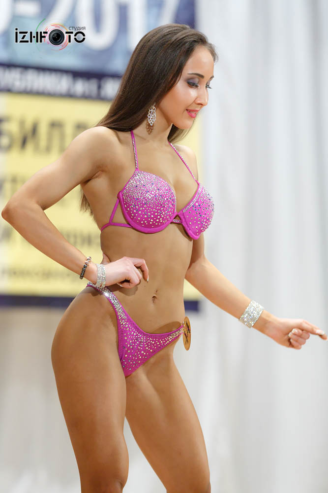 Фитнес бикини Первенство ПФО 2017 Ижевск