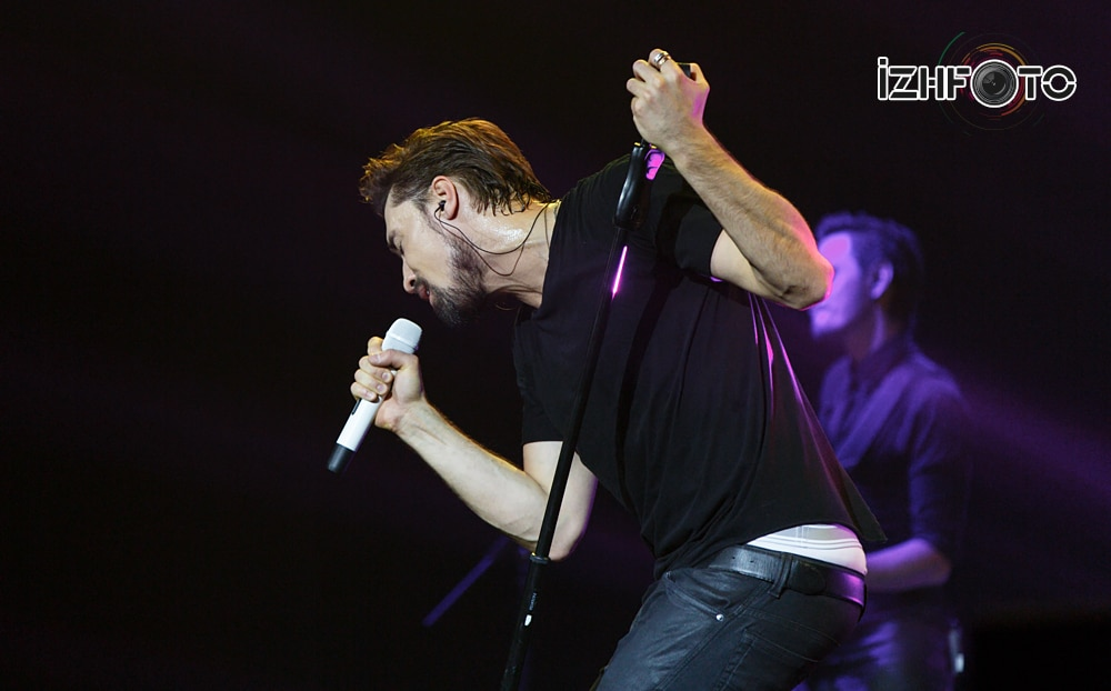 Фото с концерта Билан Ижевск