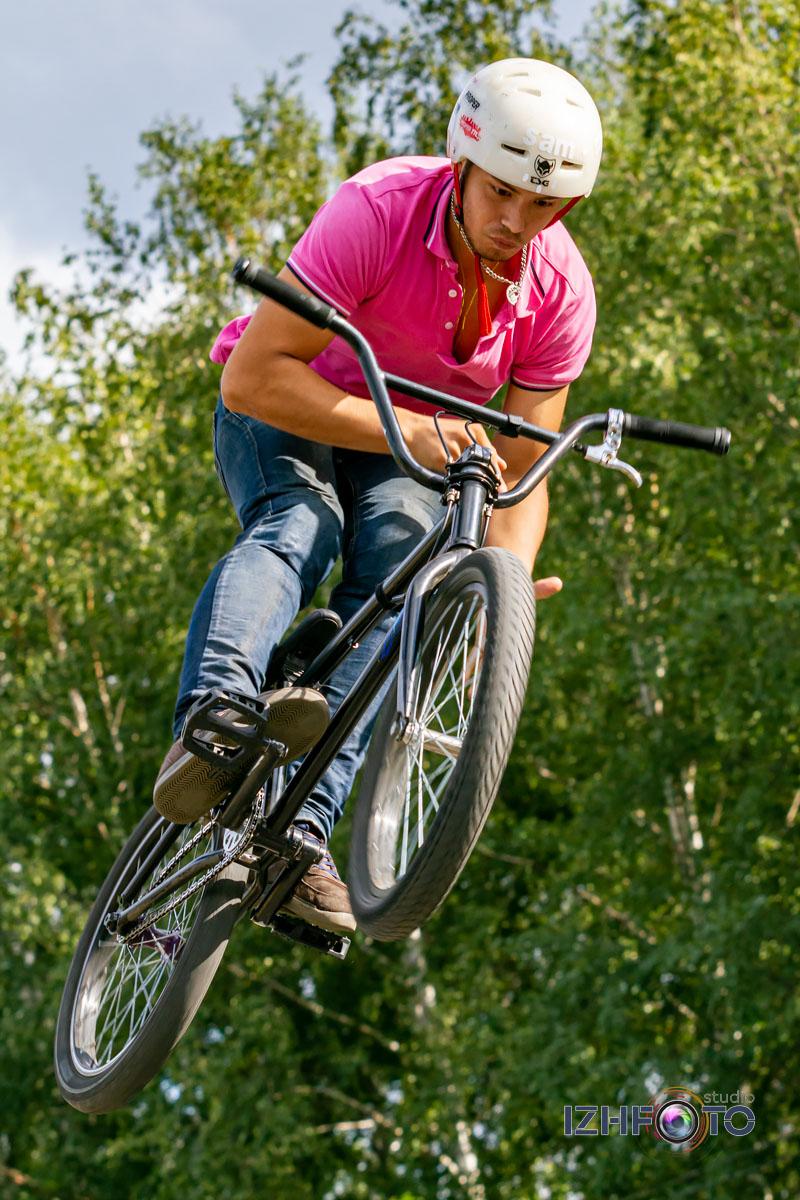 Прыжки на горных велосипедах