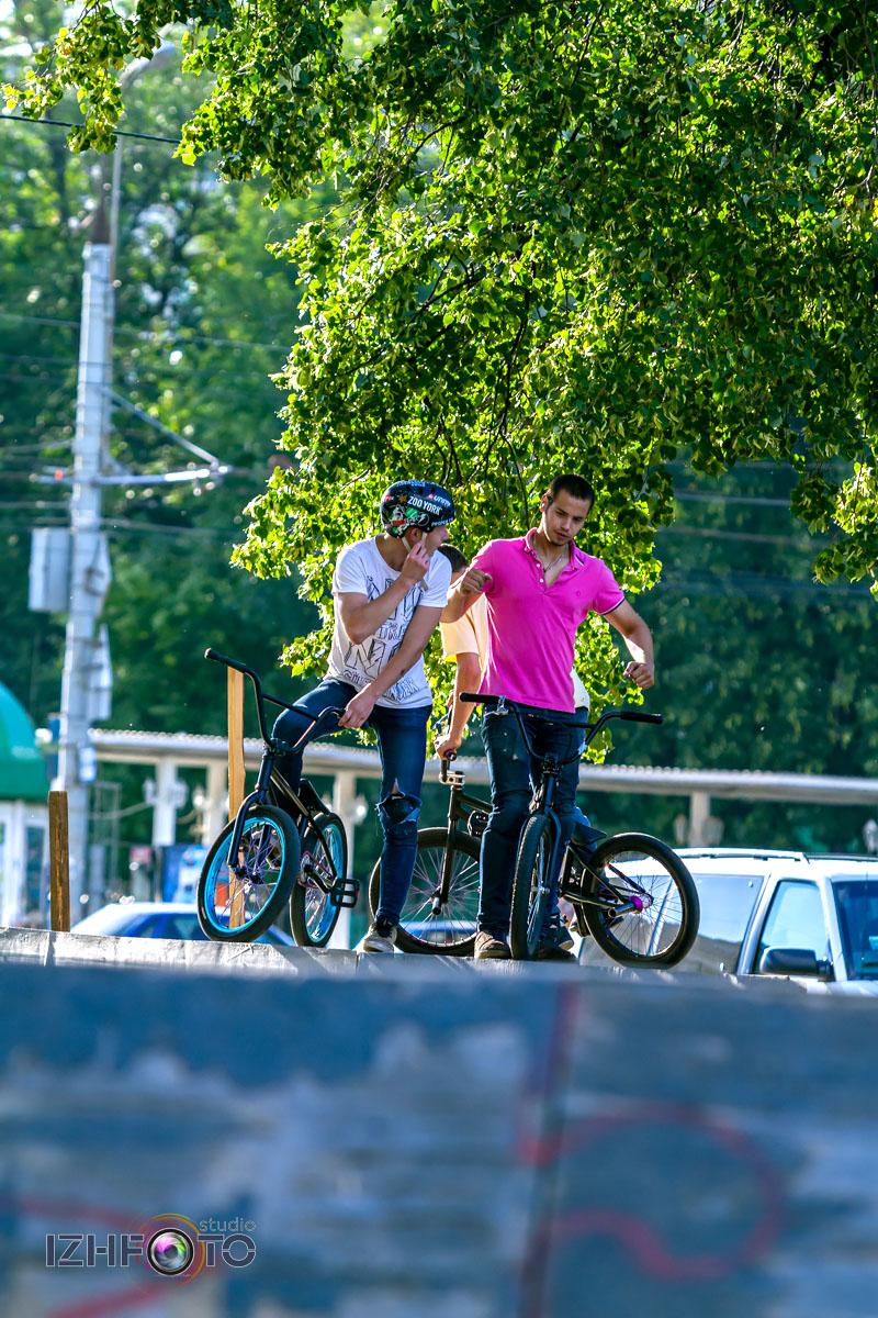 BMX фристайл в Ижевске