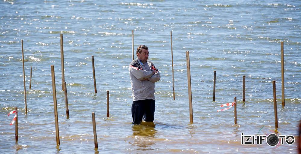 Большая вода в Воткинске 2014 Фото