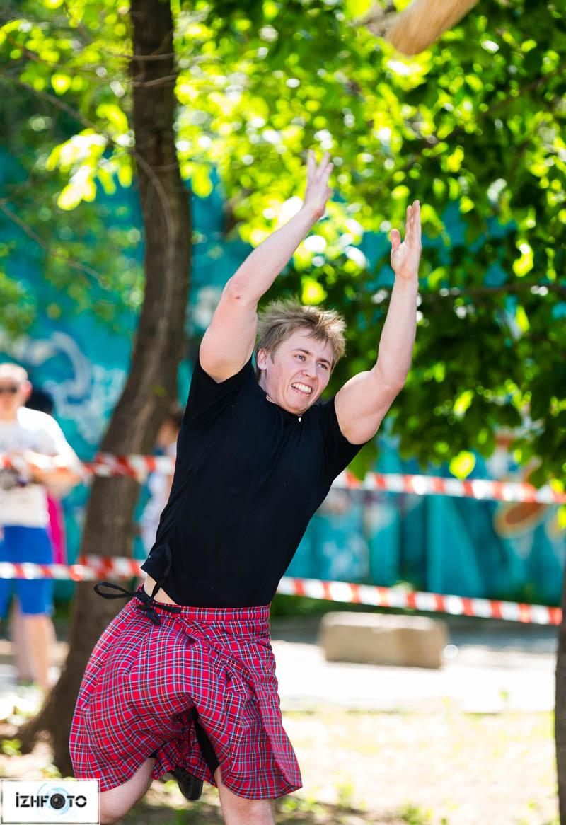 Традиционная Шотландская забава