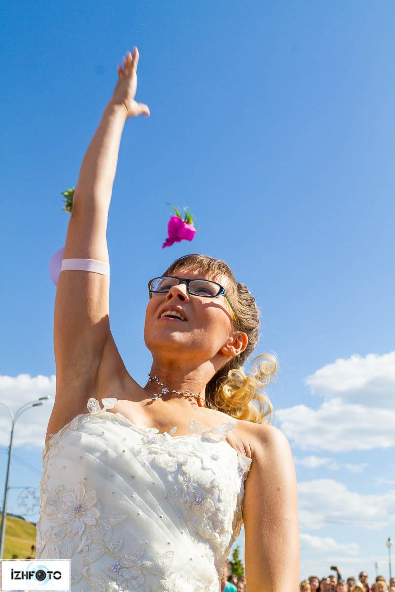 свадебный букет невесты - фото