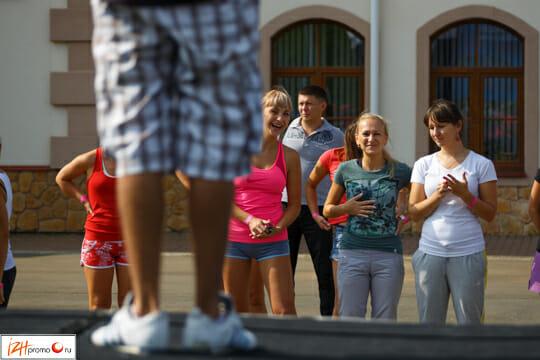 Фестиваль спортивных клубов в Ижевске