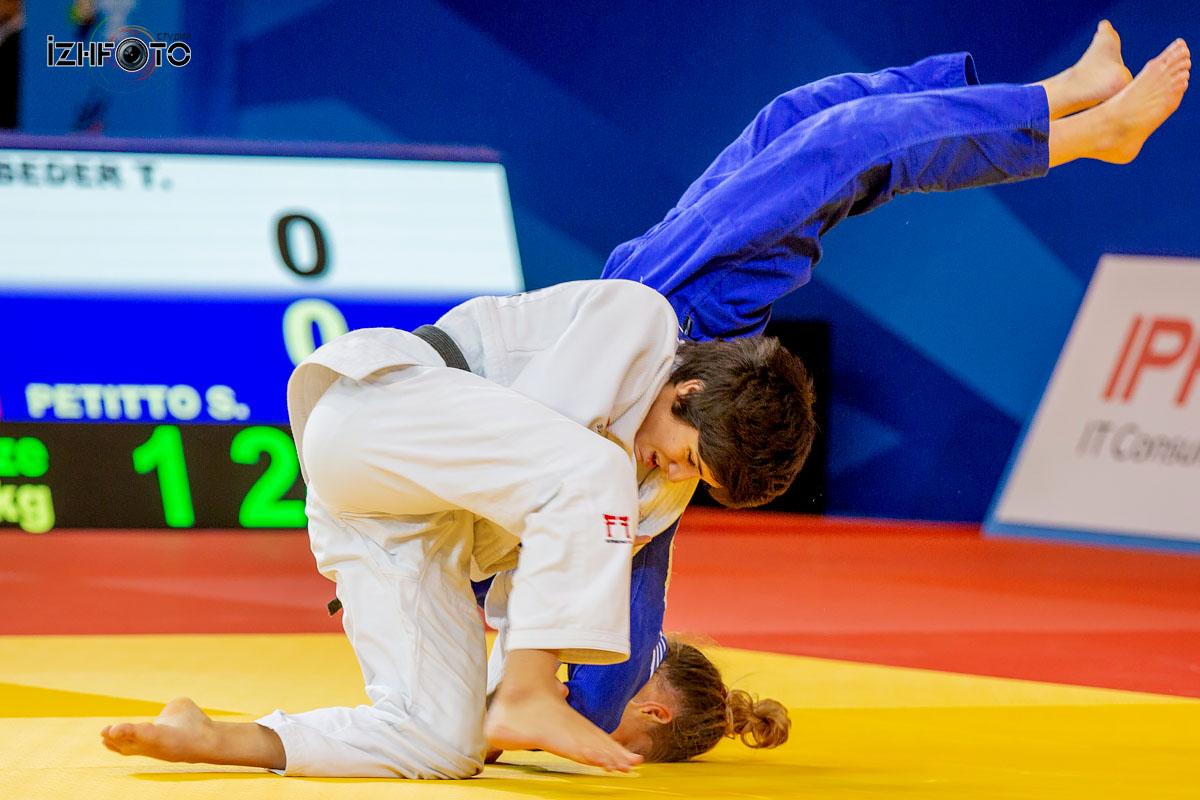 Чемпионат Европы по дзюдо в Ижевске