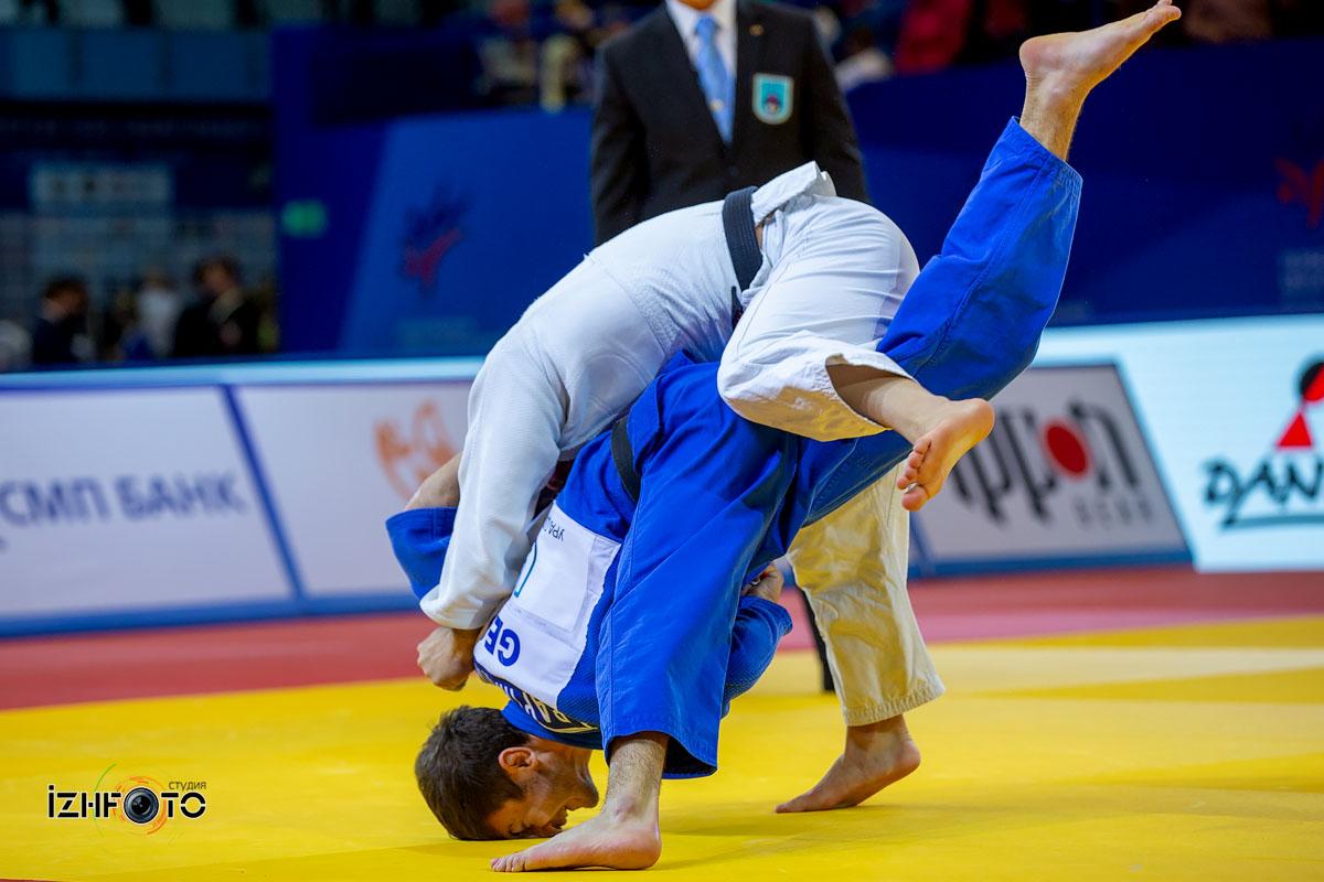 Финальные схватки на Чемпионате Европы дзюдо Ижевск 2019