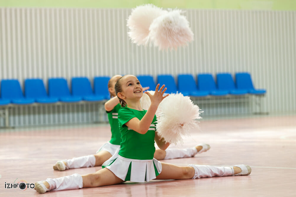Чемпионат Ижевск черлидинг