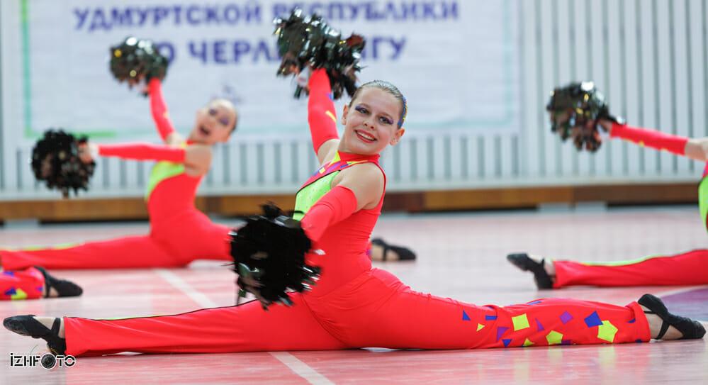 Чирлидеры Фото Ижевск