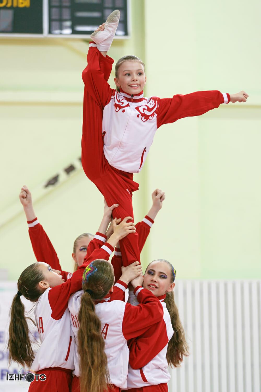 Чир-спорт в Ижевске