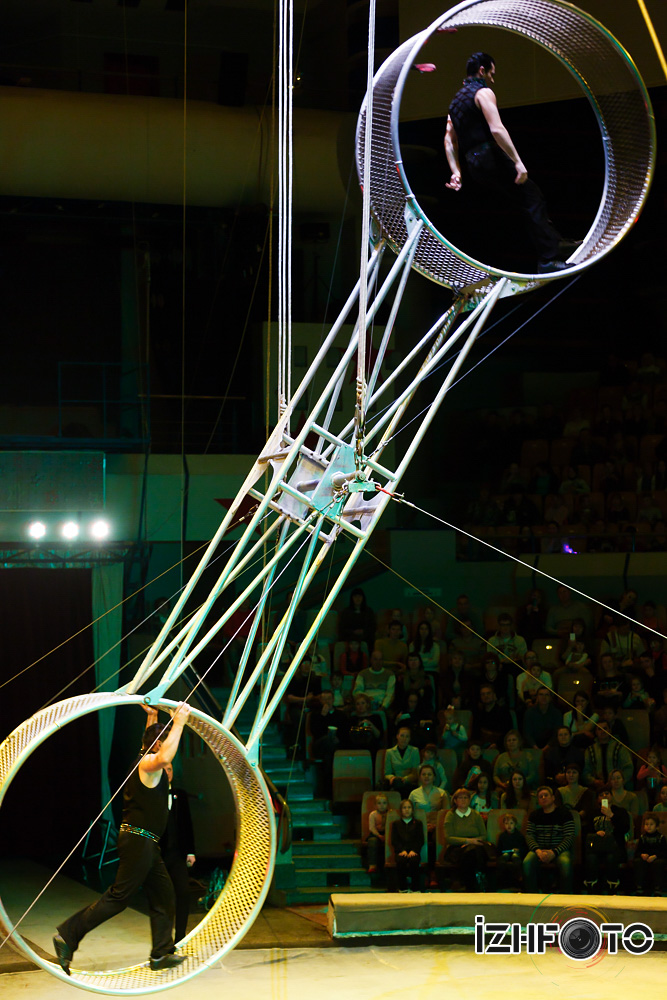 Цирковая династия Gaertner Германия