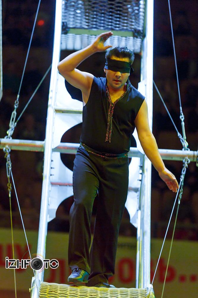 Колесо смелости в цирке
