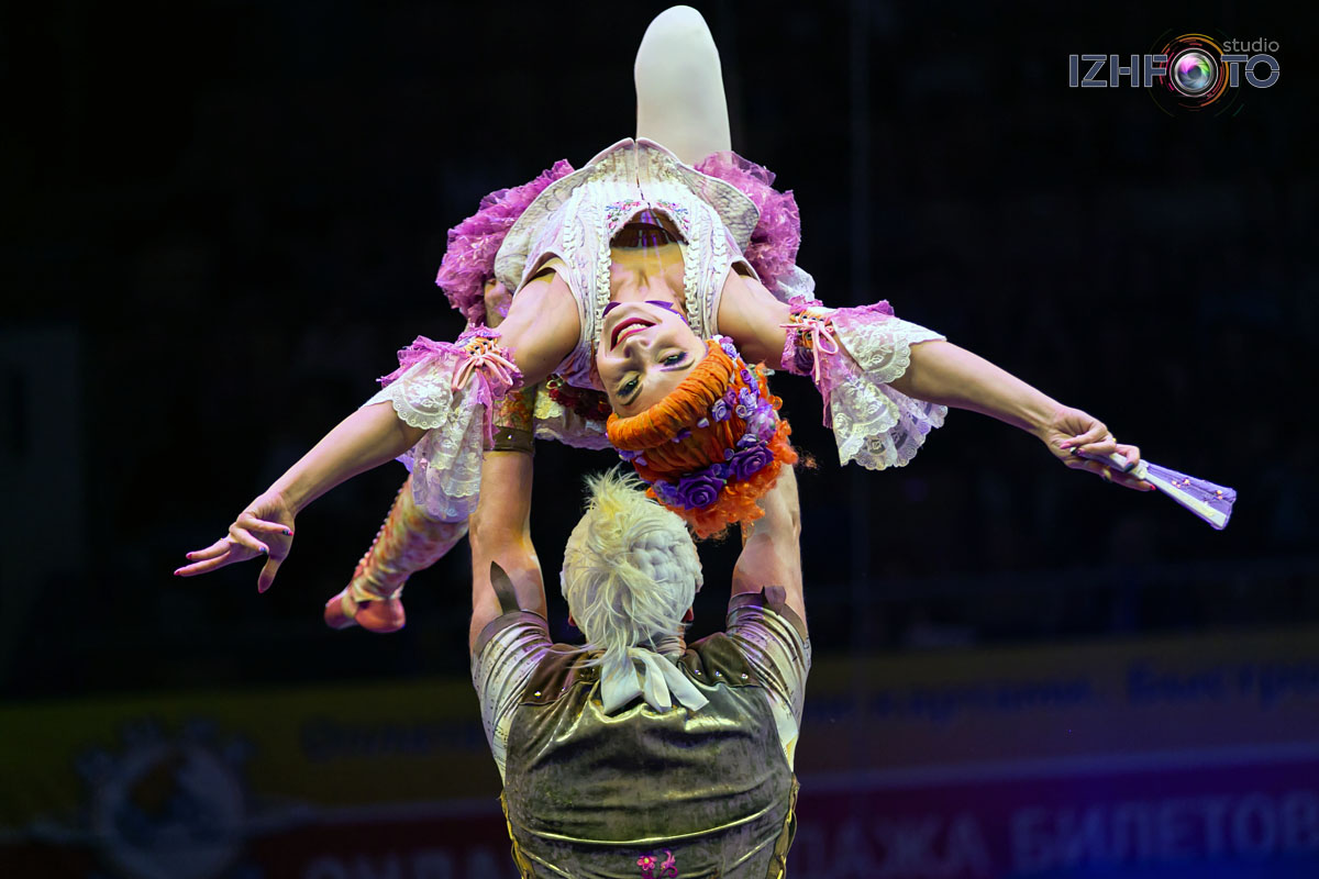 Фото с фестиваля циркового искусства Ижевск