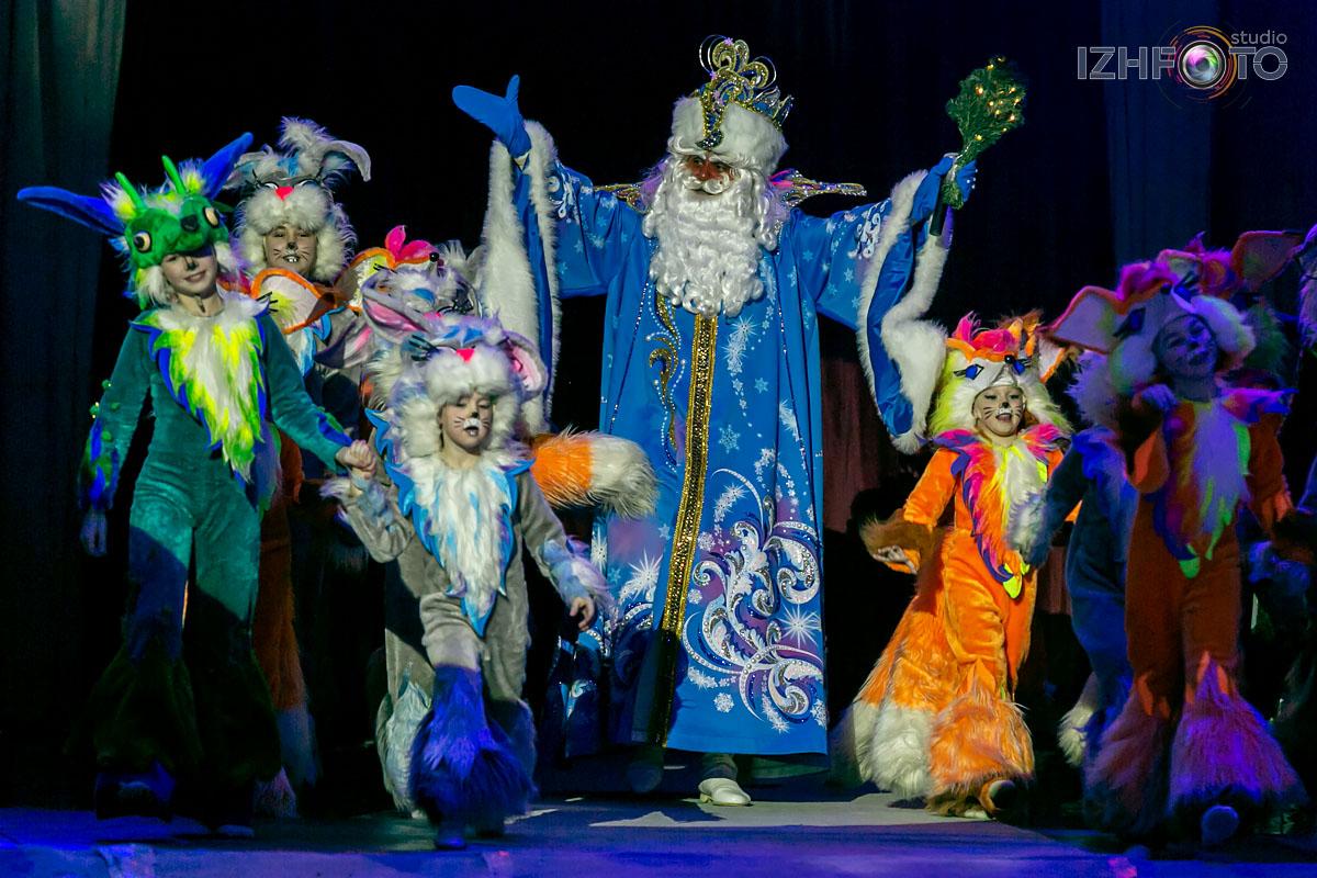 Фото Новогоднего представления в Цирке