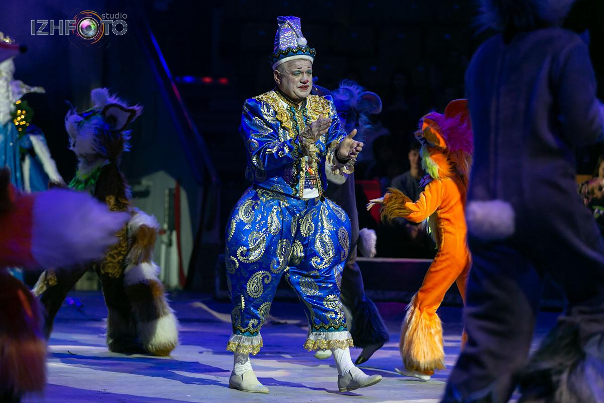 Елка в цирке Ижевска