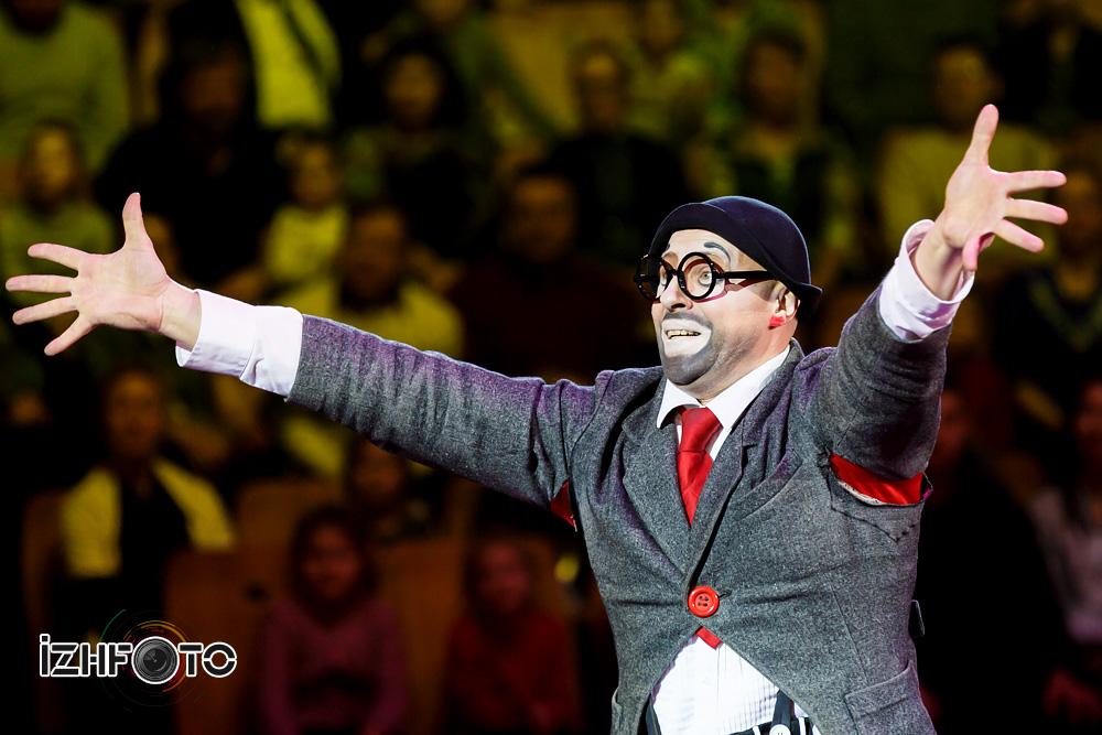 Цирковой комический дуэт