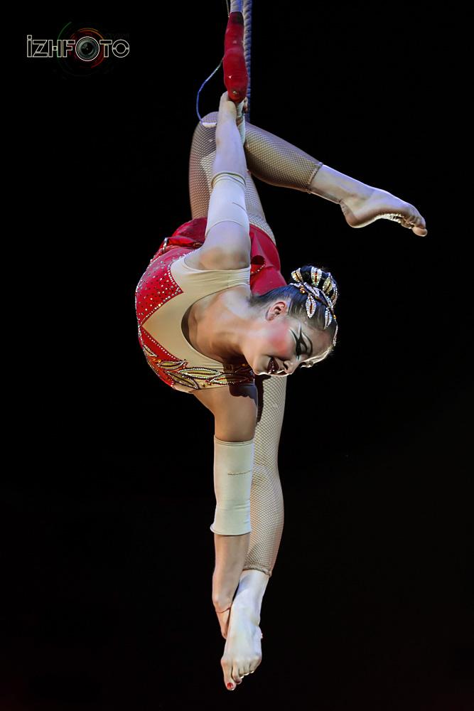 "Liubov Uliankina, trapeze, Russia ""Inspiration"""