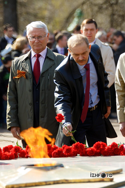 Вечный огонь в Ижевске