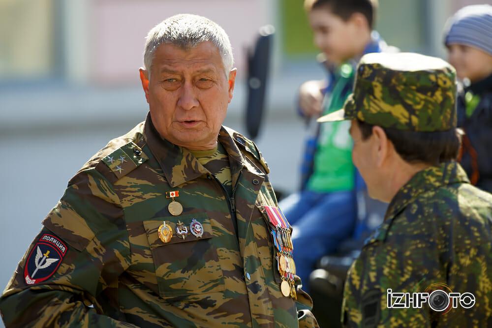 Как проходит день Победы в Ижевске Фото