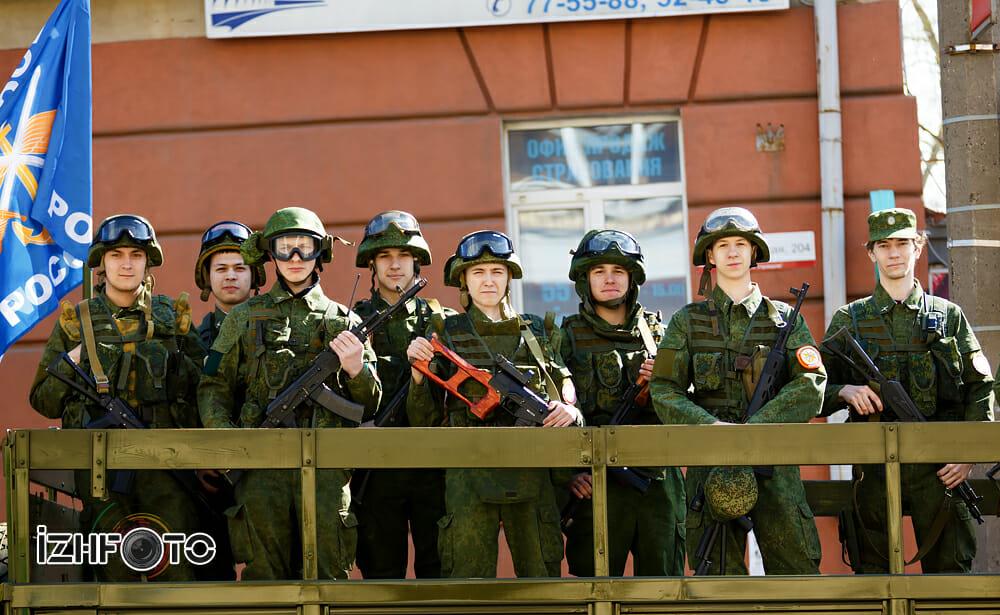 Праздник Победы в Ижевске