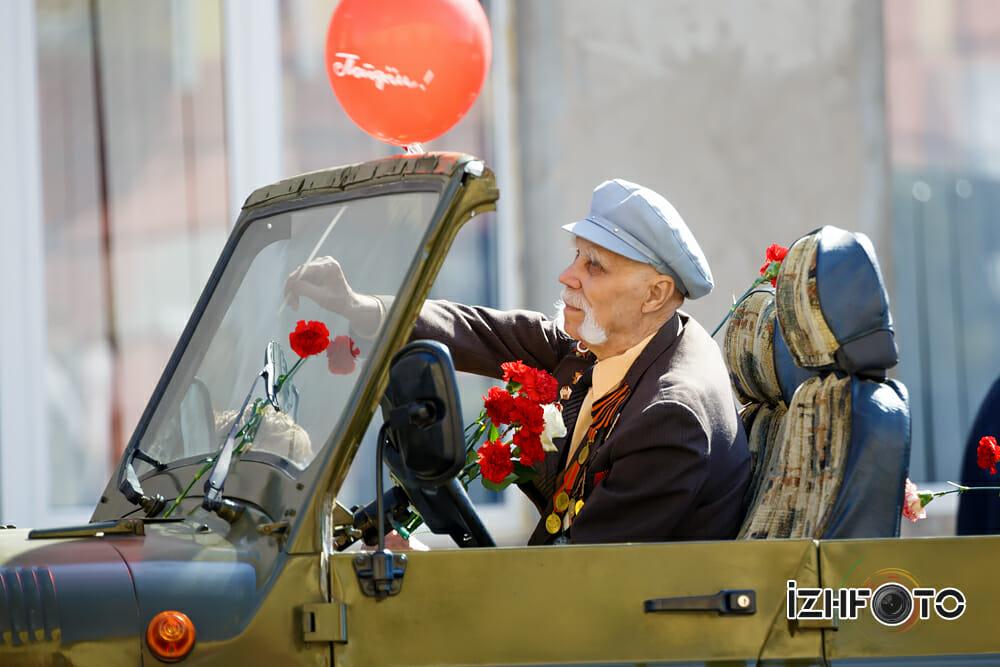 Бессмертный полк Ижевск Фото
