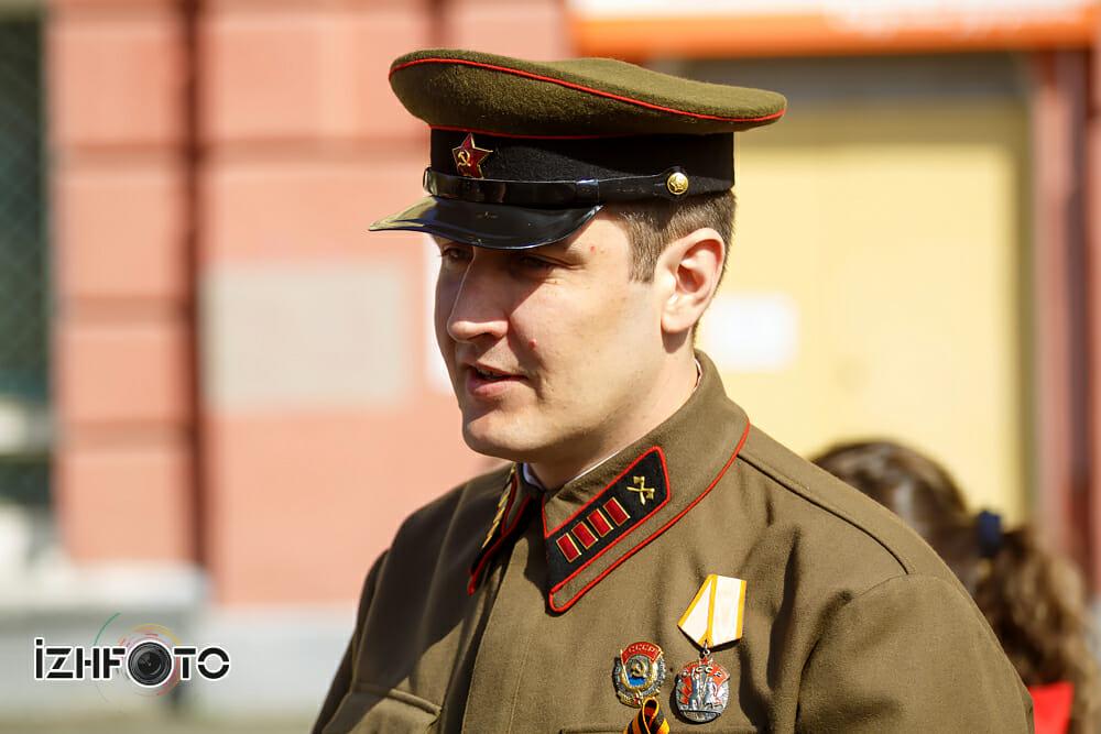 Акция Бессмертный полк в Ижевске
