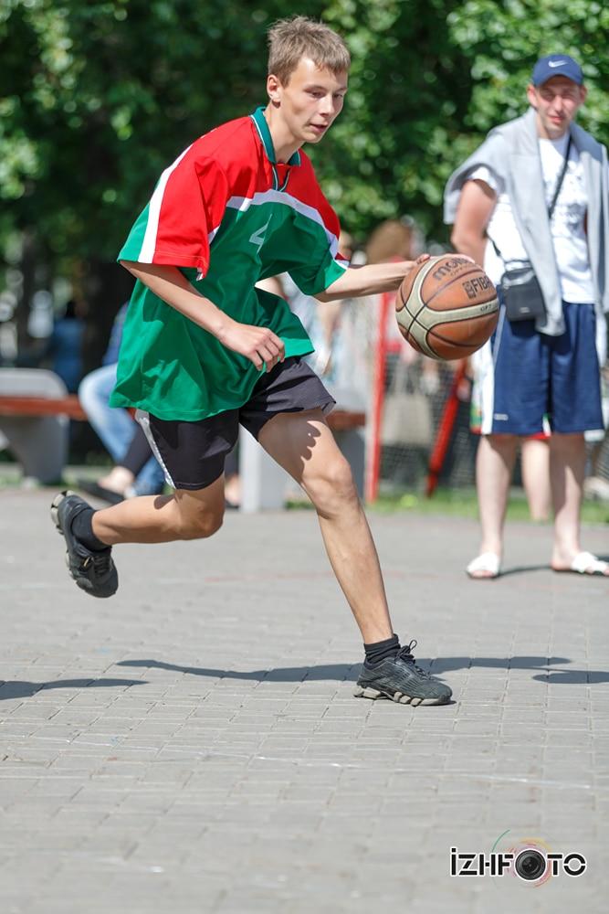 Уличный баскетбол Ижевск Фото