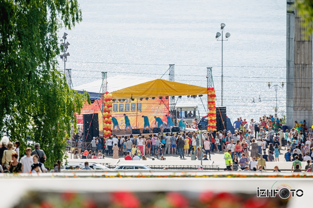 Праздник Ижевск Фото