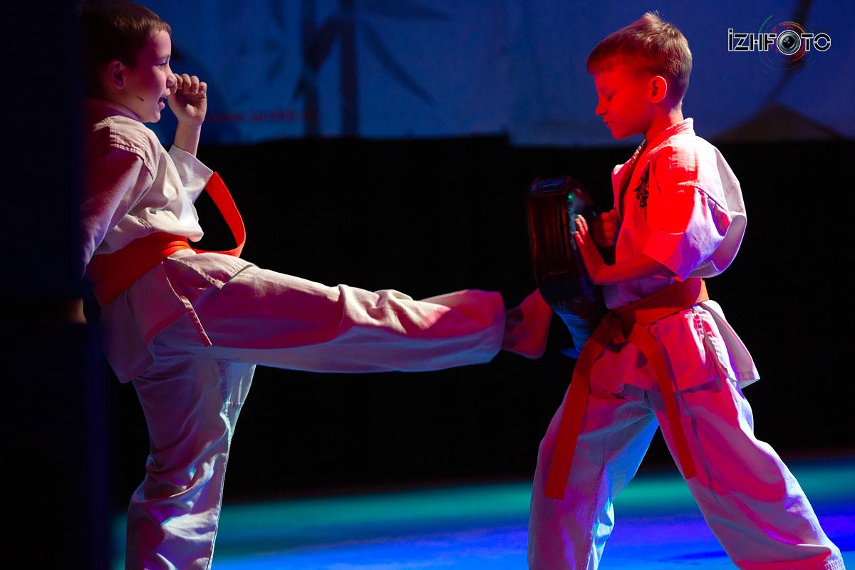 Детское карате в Ижевске