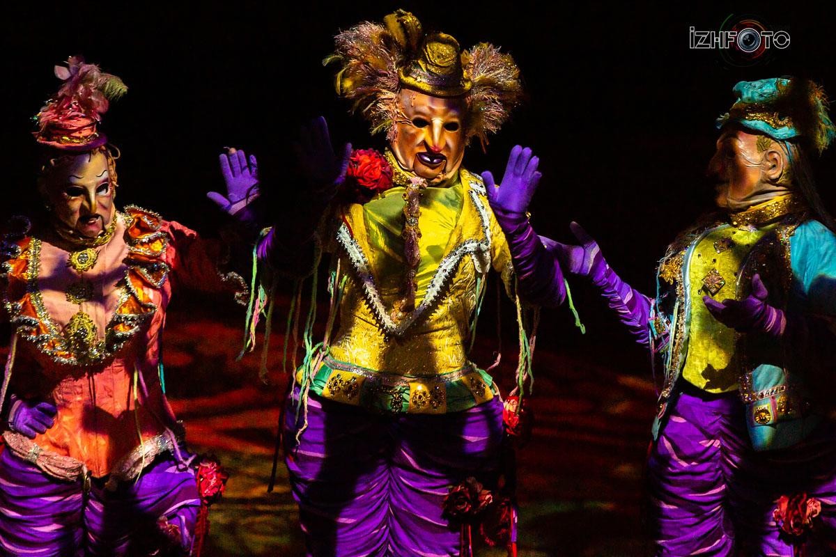 Клоуны Цирка Дю Солей